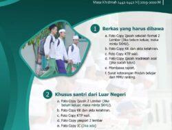 Pondok Pesantren MMU Karangdurin: Menerima Pendaftaran Santri Baru dengan Mengikuti Protokol Kesehatan.
