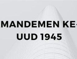 Wacana Amandemen Ke-5 UUD 1945 Masih Dikaji MPR RI