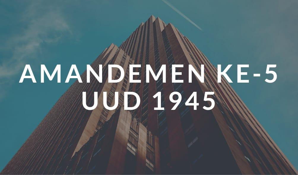 Wacana Amandemen UUD 1945 Dikritisi Banyak Pihak