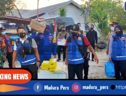 Polairud Sampang Kawal 2000 Dosis Vaksin Ke Pulau Mandangin