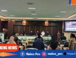 DPRD Pamekasan Gelar Rapat Paripurna Tentang Pandangan Umum Fraksi Terkait Perubahan APBD 2021
