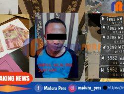 Tersangka Pelaku Curanmor di Pasar Anom Sumenep Terbekuk Polisi