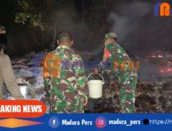 Si Jago Merah Melumat Habis Rumah Kayu Jati di Pulau Sapudi Sumenep