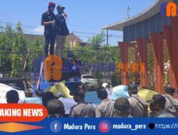 Anggarkan 1,2 M untuk Mobil Dinas Bupati, Pemkab Sumenep Didemo Pemuda