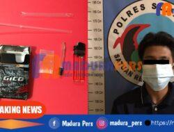 Satresnarkoba Sumenep Tangkap Pemuda Asal Bluto